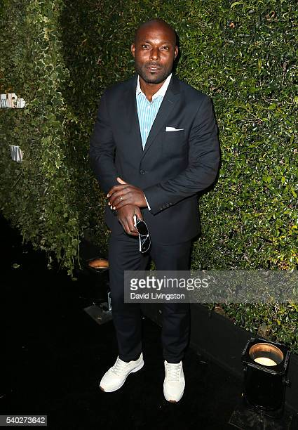 Actor Jimmy JeanLouis attends the 2016 Women In Film Max Mara Face of the Future celebrating Natalie Dormer at Chateau Marmont on June 14 2016 in Los...
