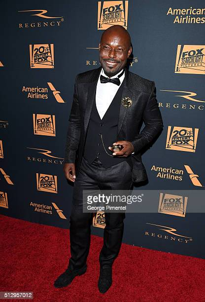 Actor Jimmy JeanLouis attends the 20th Century Fox Academy Awards after party at Hollywood Athletic Club on February 28 2016 in Hollywood California