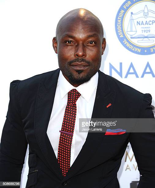 Actor Jimmy JeanLouis attends the 47th NAACP Image Awards at Pasadena Civic Auditorium on February 5 2016 in Pasadena California