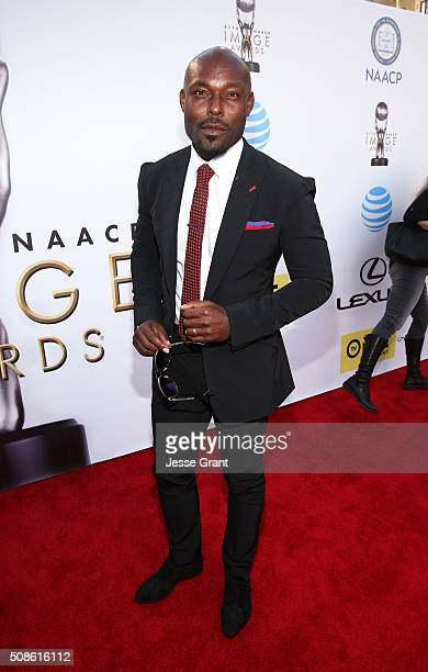 Actor Jimmy JeanLouis attends the 47th NAACP Image Awards presented by TV One at Pasadena Civic Auditorium on February 5 2016 in Pasadena California