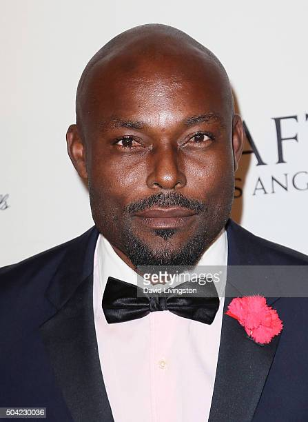 Actor Jimmy JeanLouis attends the BAFTA Los Angeles Awards Season Tea at the Four Seasons Hotel Los Angeles at Beverly Hills on January 9 2016 in Los...