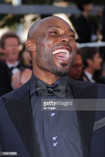 Actor Jimmy JeanLouis attends the 'Fair Game' Premiere at the Palais des Festivals during the 63rd Annual Cannes Film Festival on May 20 2010 in...