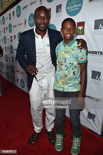 Actor Jimmy Jean-Louis attends the Hollyshorts 10th Anniversary Opening Night at The TCL Chinese Theatres on August 14, 2014 in Hollywood, California.
