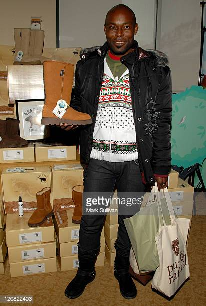 Actor Jimmy JeanLouis attends the Pure Natural Celebrity EcoRetreat produced by backstage Creations on January 20 2008 in Park City Utah