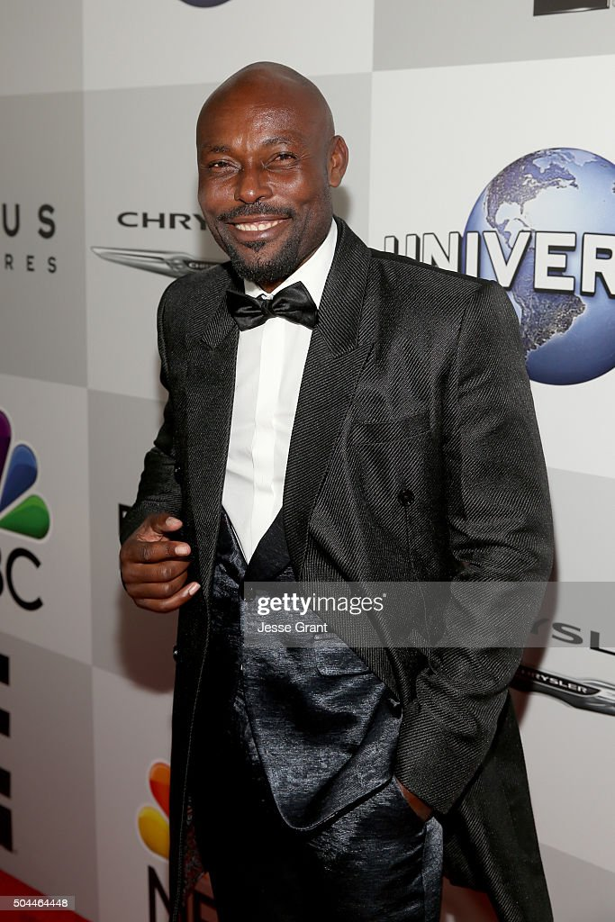 Actor Jimmy Jean-Louis attends Universal, NBC, Focus Features and E! Entertainment Golden Globe Awards After Party sponsored by Chrysler at The Beverly Hilton Hotel on January 10, 2016 in Beverly Hills, California.