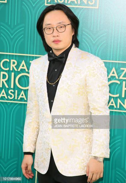 Actor Jimmy O Yang attends the premiere of Warner Bros Pictures' 'Crazy Rich Asians' in Hollywood California on August 7 2018