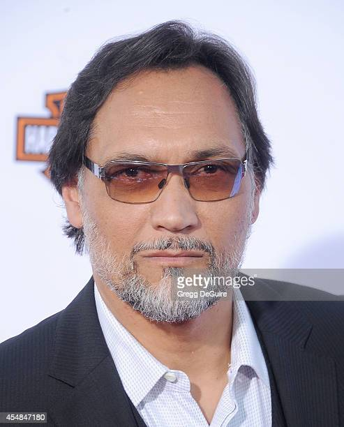 Actor Jimmy Smits arrives at FX's Sons Of Anarchy premiere at TCL Chinese Theatre on September 6 2014 in Hollywood California