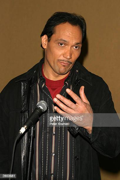 """Actor Jimmy Smits at the New York City Latin Media and Entertainment Commission salutes """"Anna in the Tropics"""" January 8, 2004 in New York City."""