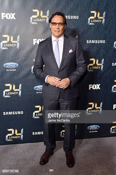 Actor Jimmy Smits attends the 24 LEGACY Premiere Event at Spring Studios on January 30 2017 in New York City