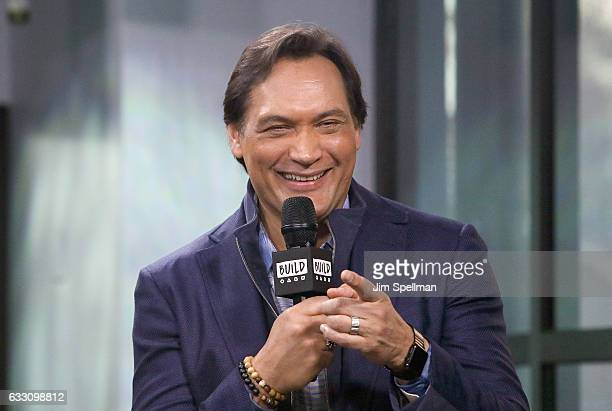 Actor Jimmy Smits attends the Build series to discuss 24 Legacy at Build Studio on January 30 2017 in New York City