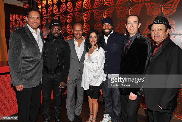 Actor Jimmy Smits Musician william of The Black Eyed Peas Actor Amaury Nolasco Musician Sheila Escovedo NBA Player Baron Davis President and CEO of...