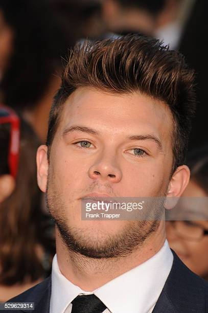 Actor Jimmy Tatro arrives at the premiere of 22 Jump Street held at the Regency Village Theatre in Westwood