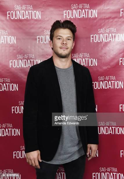 Actor Jimmy Tatro attends the SAGAFTRA Foundation Conversations screening of American Vandal at the SAGAFTRA Foundation Screening Room on June 13...