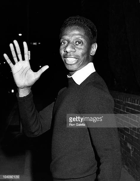 """Actor Jimmy Walker attends the taping of """"11th Anniversary of Good Times"""" on April 8, 1983 at the Comedy Store in West Hollywood, California."""