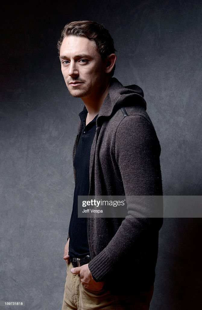 Actor JJ Feild poses for a portrait during the 2013 Sundance Film Festival at the WireImage Portrait Studio at Village At The Lift on January 19, 2013 in Park City, Utah.