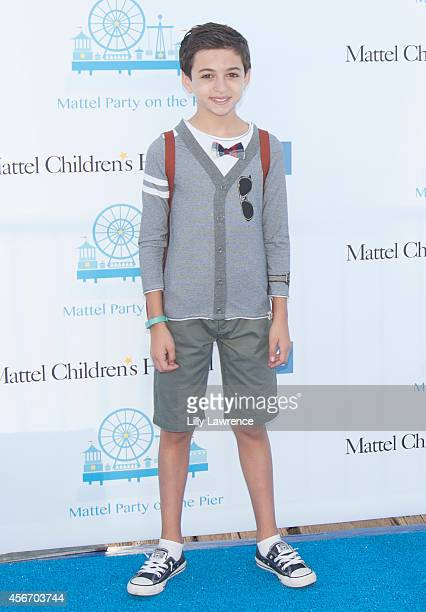 Actor JJ Totah attends Mattel's 5th Annual Party On The Pier Hosted By Sarah Michelle Gellar at Santa Monica Pier on October 5 2014 in Santa Monica...