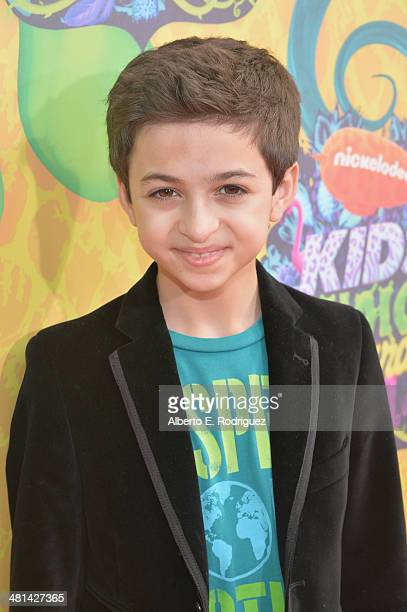 Actor JJ Totah attends Nickelodeon's 27th Annual Kids' Choice Awards held at USC Galen Center on March 29 2014 in Los Angeles California