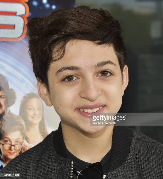 Actor JJ Totah attends premiere of Time Toys at Laemmle NoHo 7 on March 4 2017 in North Hollywood California