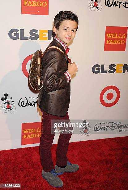 Actor JJ Totah attends the 9th Annual GLSEN Respect Awards held at the Beverly Hills Hotel on October 18 2013 in Beverly Hills California