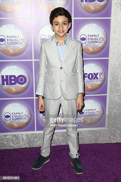 Actor JJ Totah attends the Family Equality Council's Los Angeles Awards Dinner at The Beverly Hilton Hotel on February 28 2015 in Beverly Hills...