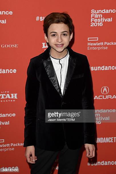 Actor JJ Totah attends the Other People Premiere during the 2016 Sundance Film Festival at Eccles Center Theatre on January 21 2016 in Park City Utah