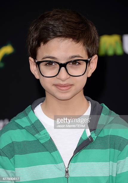 Actor JJ Totah attends the premiere of Disney's Muppets Most Wanted at the El Capitan Theatre on March 11 2014 in Hollywood California