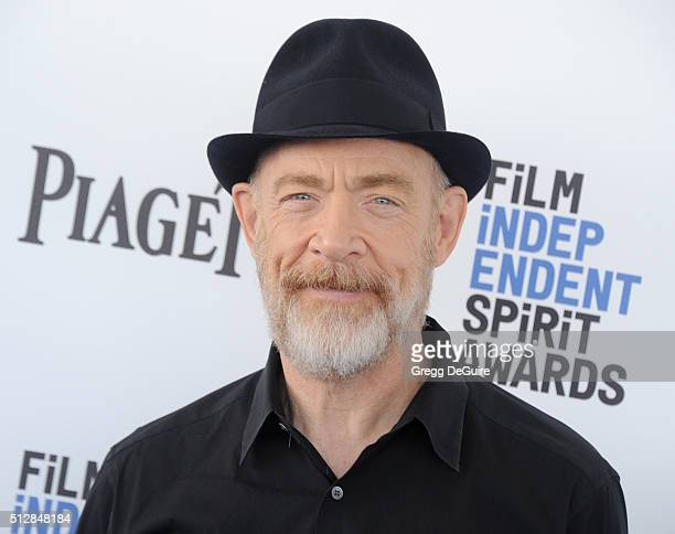 Actor JK Simmons arrives at the 2016 Film Independent Spirit Awards on February 27 2016 in Santa Monica California