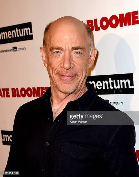 Actor JK Simmons arrives at the premiere of Momentum Pictures' 'The Late Bloomer' at the iPic Theaters on October 3 2016 in Los Angeles California