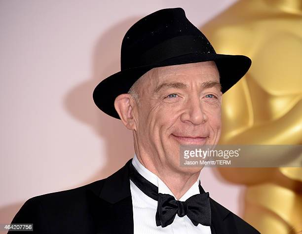 Actor JK Simmons attends the 87th Annual Academy Awards at Hollywood Highland Center on February 22 2015 in Hollywood California