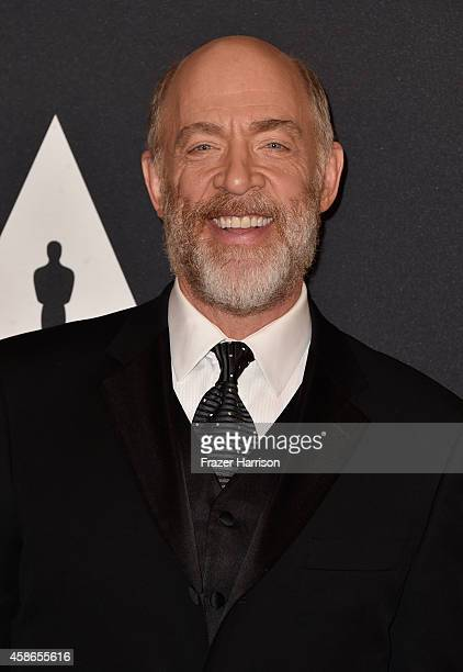 Actor JK Simmons attends the Academy Of Motion Picture Arts And Sciences' 2014 Governors Awards at The Ray Dolby Ballroom at Hollywood Highland...