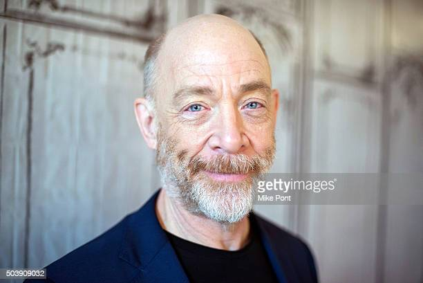 Actor JK Simmons attends the AOL BUILD Series to discuss his new film Kung Fu Panda 3 at AOL Studios In New York on January 7 2016 in New York City
