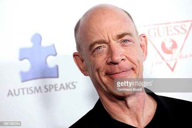 Actor JK Simmons attends the Autism Speaks 3rd annual 'Blue Jean Ball' held at Boulevard3 on October 24 2013 in Hollywood California