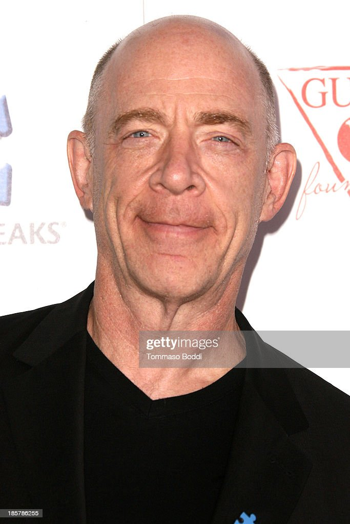 Actor J.K. Simmons attends the Autism Speaks 3rd annual 'Blue Jean Ball' held at Boulevard3 on October 24, 2013 in Hollywood, California.