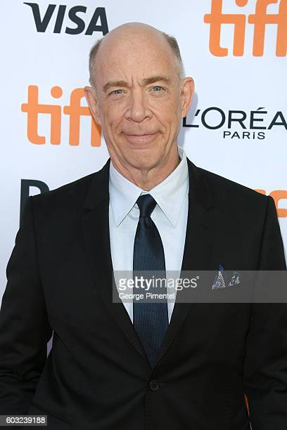 Actor JK Simmons attends the La La Land Premiere during the 2016 Toronto International Film Festival at Princess of Wales Theatre on September 12...