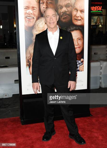 Actor JK Simmons attends the premiere of 'Father Figures' at TCL Chinese Theatre on December 13 2017 in Hollywood California