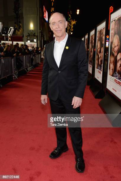 Actor JK Simmons attends the premiere of Warner Bros Pictures' 'Father Figures' at TCL Chinese Theatre on December 13 2017 in Hollywood California
