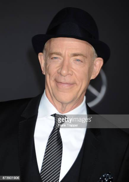 Actor JK Simmons attends the premiere of Warner Bros Pictures' 'Justice League' held at the Dolby Theatre on November 13 2017 in Hollywood California