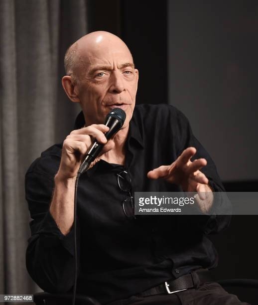 Actor JK Simmons attends the SAGAFTRA Foundation Conversations screening of 'Counterpart' at the SAGAFTRA Foundation Screening Room on June 12 2018...
