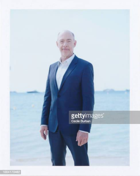 Actor JK Simmons is photographed for Self Assignment on May 2014 in Cannes France