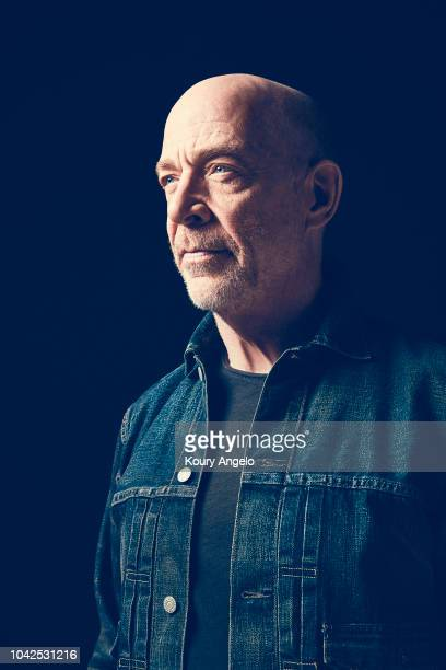Actor JK Simmons is photographed for The Hollywood Reporter on April 28 2018 in Los Angeles California PUBLISHED IMAGE