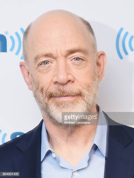 Actor JK Simmons visits SiriusXM Studios on January 8 2016 in New York City