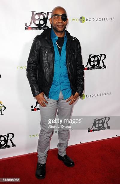 Actor JLouis Mills arrives for the Premiere Of JR Productions' Halloweed held at TCL Chinese 6 Theatres on March 15 2016 in Hollywood California
