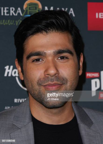 Actor JM Longoria attends the 5th Annual Premios PLATINO Of Iberoamerican Cinema Nominations Announcement at Hollywood Roosevelt Hotel on March 13...