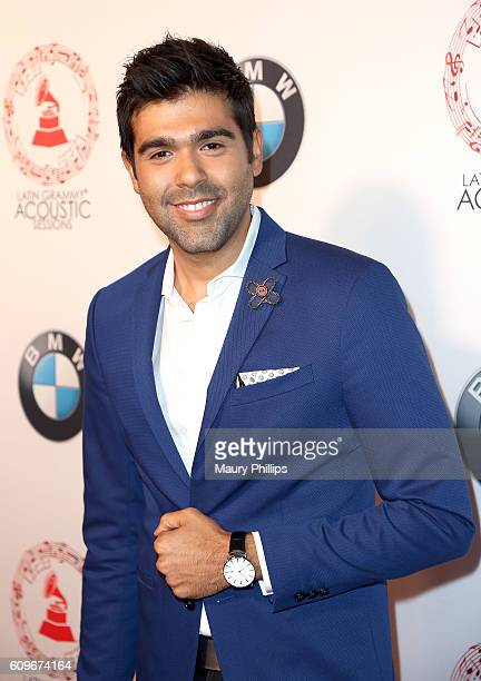 Actor JM Longoria attends the Latin GRAMMY Acoustic Sessions Los Angeles on September 21 2016 in Los Angeles California