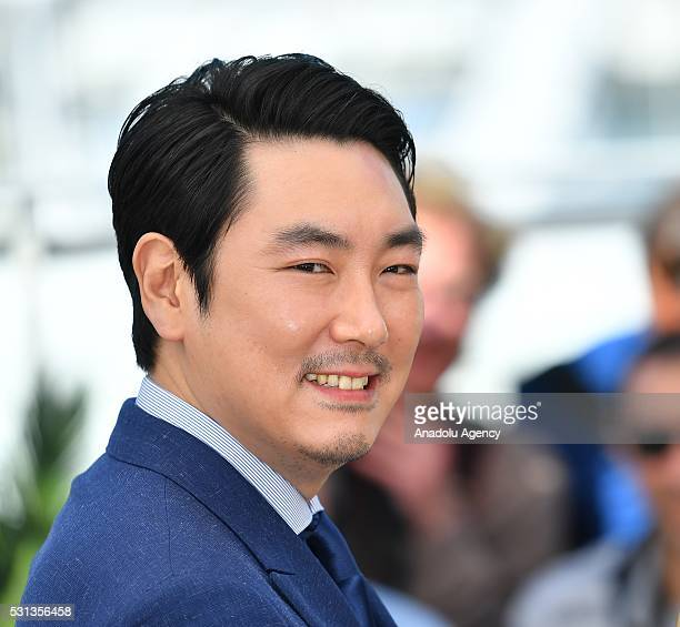 Actor Jo JingWoong and actor Ha JungWoo pose during the photocall for the film 'The Handmaiden ' at the 69th international film festival in Cannes on...