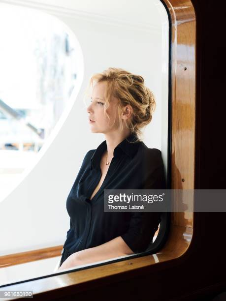 Actor Joanna Kulig isphotographed on May 10, 2018 in Cannes, France. .