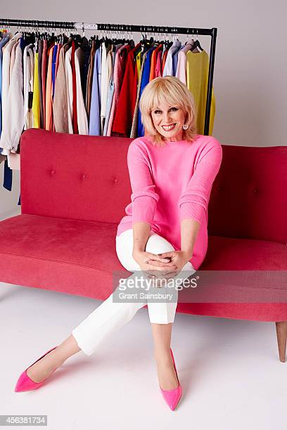 Actor Joanna Lumley is photographed for Good Houseeeping on November 25 2013 in London England