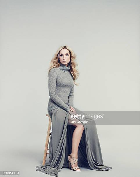 Actor Joanne Froggatt is photographed for Harrods magazine on April 4 2014 in London England