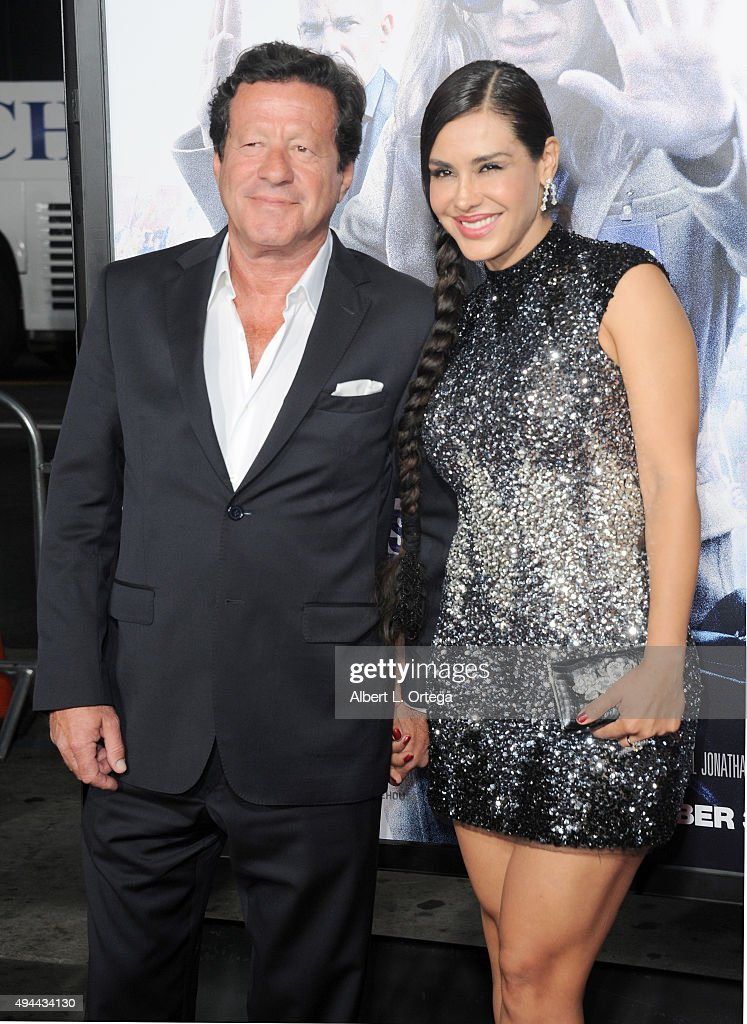 Actor Joaquim de Almeida and actress Carla Ortiz arrive for the Premiere Of Warner Bros. Pictures' 'Our Brand Is Crisis' held at TCL Chinese Theatre on October 26, 2015 in Hollywood, California.