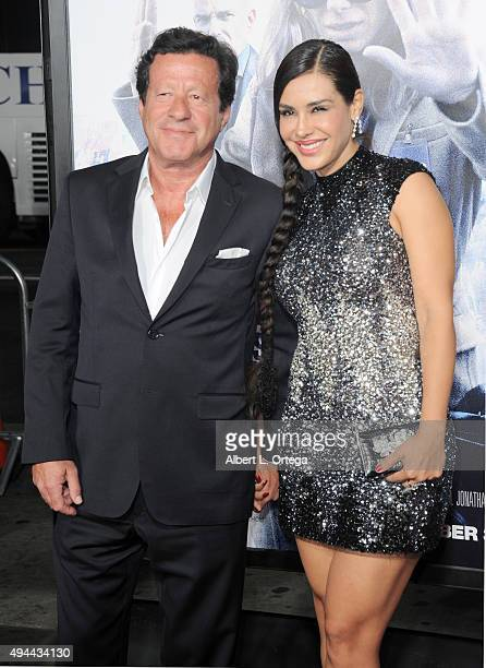 Actor Joaquim de Almeida and actress Carla Ortiz arrive for the Premiere Of Warner Bros Pictures' Our Brand Is Crisis held at TCL Chinese Theatre on...